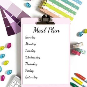 Food Waste: How to Meal Plan