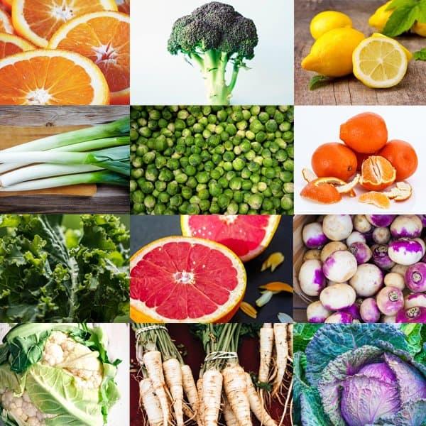 February Seasonal Produce Guide