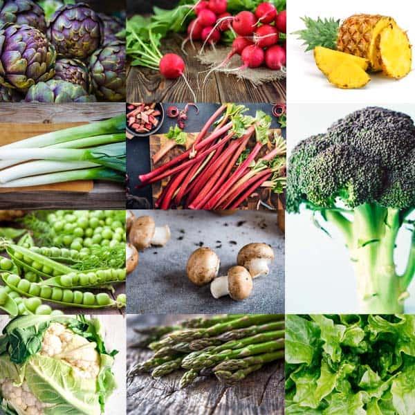 April Seasonal Produce Guide
