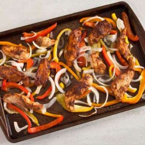 Chicken Fajita Freezer Meal