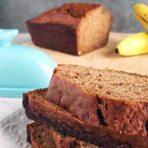 Easy Sourdough Discard Banana Bread