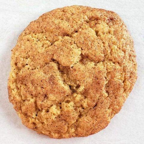 Sourdough Snickerdoodle Cookie