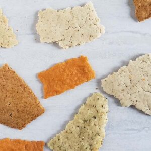 Sourdough Discard Crackers {No-Kneading or Rolling!}