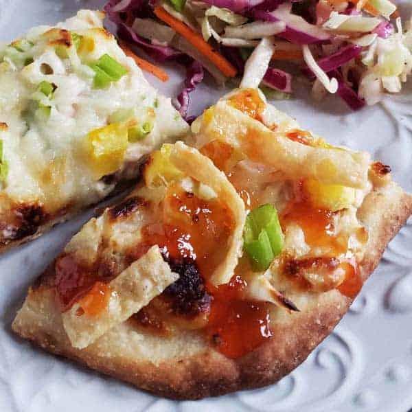 Crab Rangoon Pizza {On Flatbread}