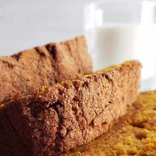 Sourdough Pumpkin Bread {with Cinnamon Sugar Topping}