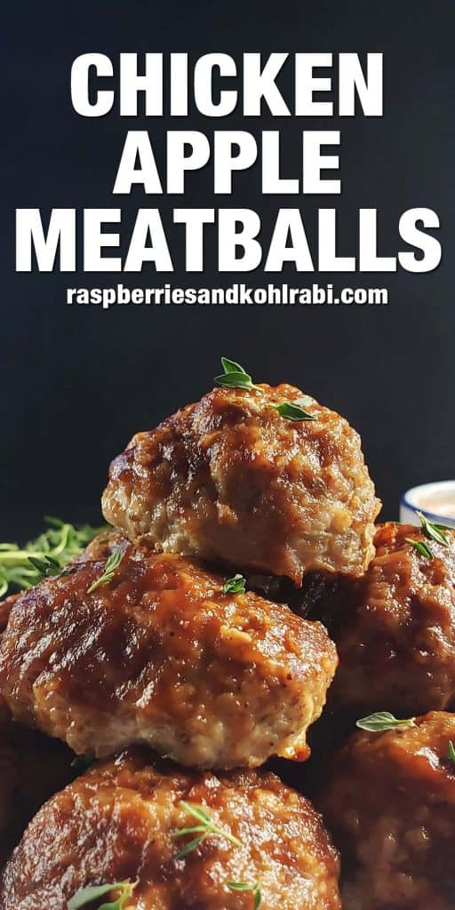 close up of a stack of meatballs