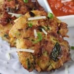 Chicken and Zucchini Fritters