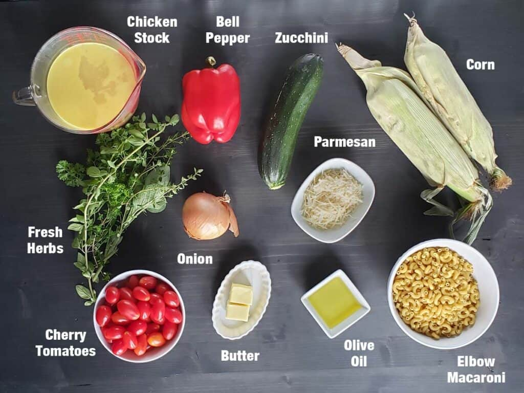 roasted vegetable pasta salad ingredients