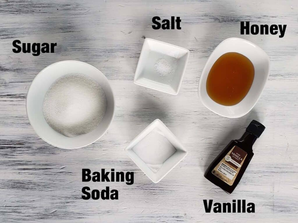 Honeycomb Candy Ingredients