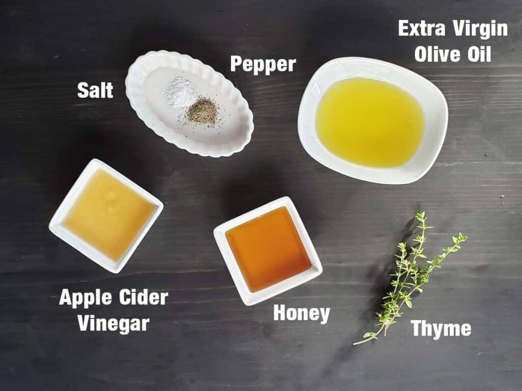 apple cider honey dressing ingredients