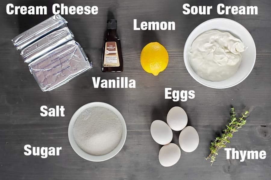 cheesecake filling ingredients
