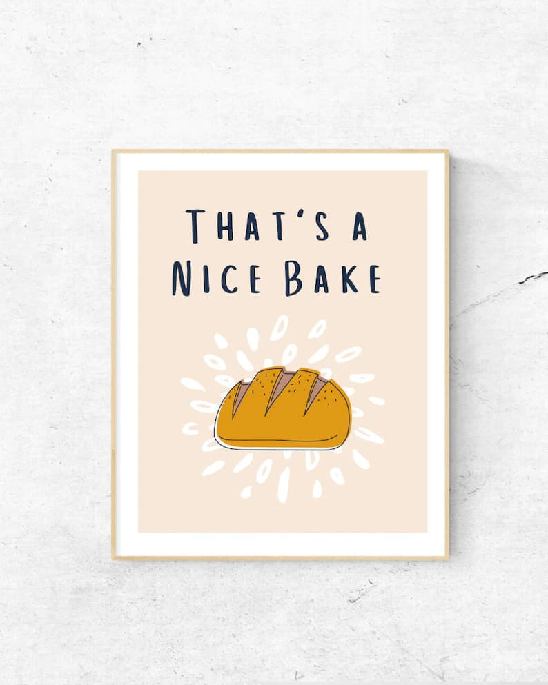 that's a nice bake digital print