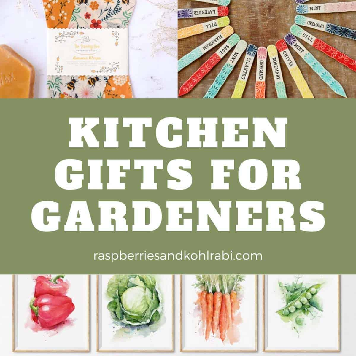 Gifts for Gardeners Who Love to Cook