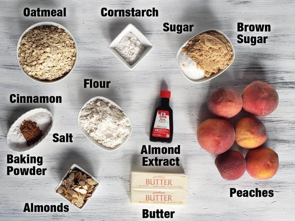 peach bar ingredients